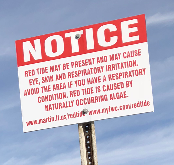 Notice: Red Tide