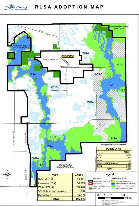 Collier RLSA Adoption Map