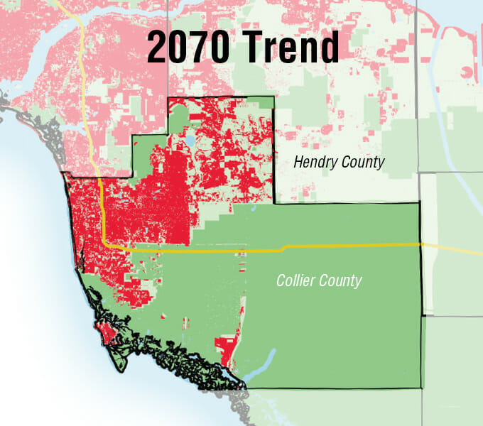 Collier County 2070 Trend
