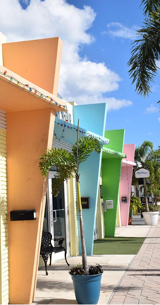 Colorful Shop Fronts